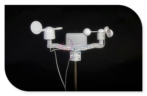 APRS Weather Station Update kit, Meteorological monitoring sensor Anemometer/Wind Vane/Rain Bucket compatible with Arduino