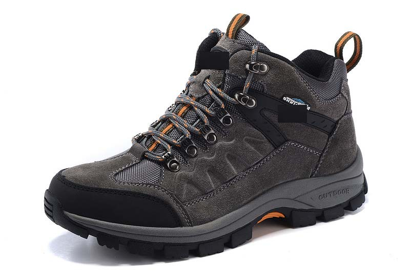 ФОТО 2016 New Autumn Winter Men Outdoor Shoes Corium Anti-skid Wear resistant breathable Hiking Climbing Mountaineering Shoes