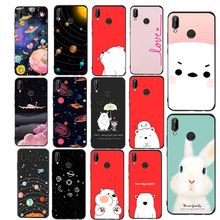 Simple Silicone Case For Huawei Mate 10 lite Case Cover For Huawei P20 lite P9 P10 P8 Lite 2017 P smart p9 lite mini Coque Capa(China)