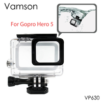 Gopro Hero 5 Accessories Waterproof Protection Housing Case Diving 45M Protective For Go Pro Hero 5
