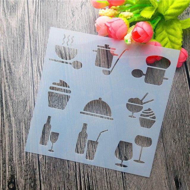 Clip Art Alat Kartu Diy Al Penutup Lukisan Template Cake Laser Cutting Peralatan Dapur Panci
