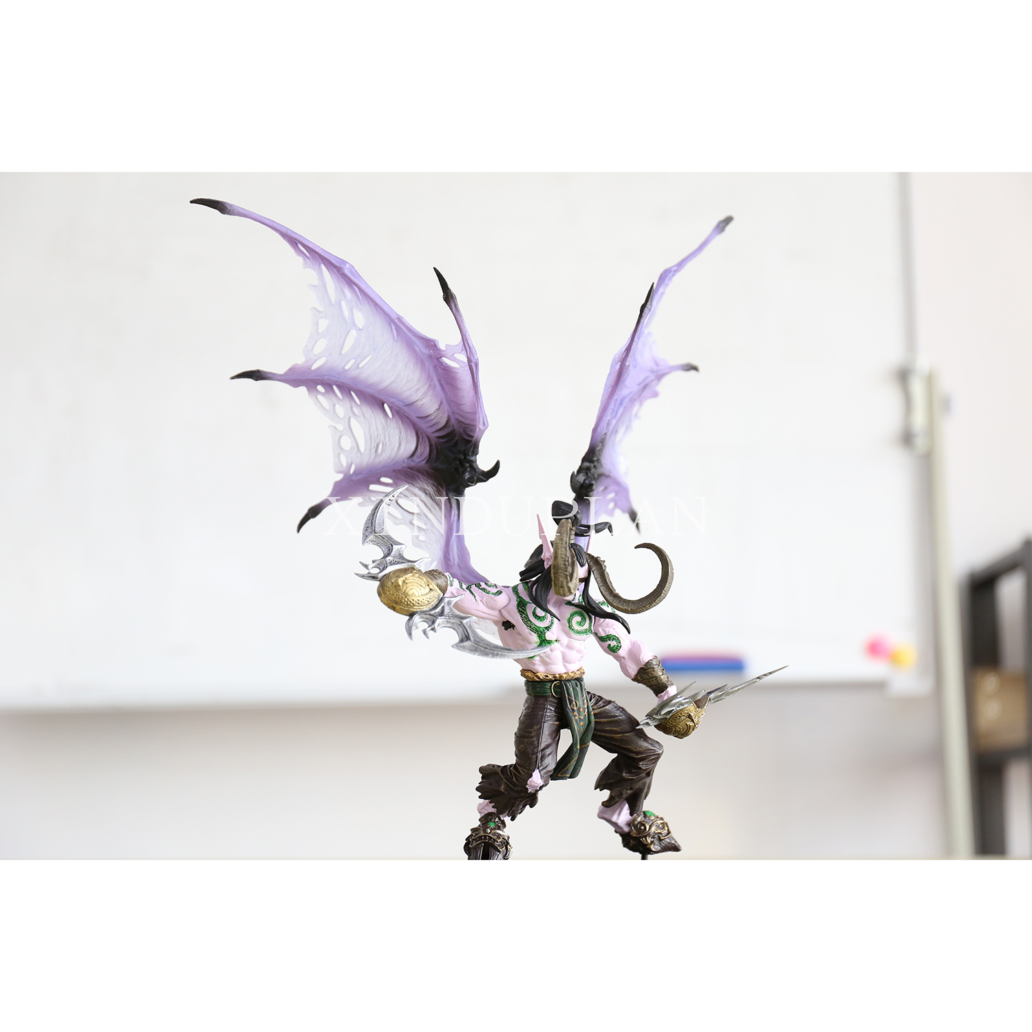 XINDUPLAN NEW Dota 2 DC Illidan Stormrage Demon Horde Game Action Figure Toys Cartoon Game Kids PVC Kids Collection Model 0327 street fighter v chun li bigboystoys with light action figure game toys pvc action figure collection model toys kids for gift