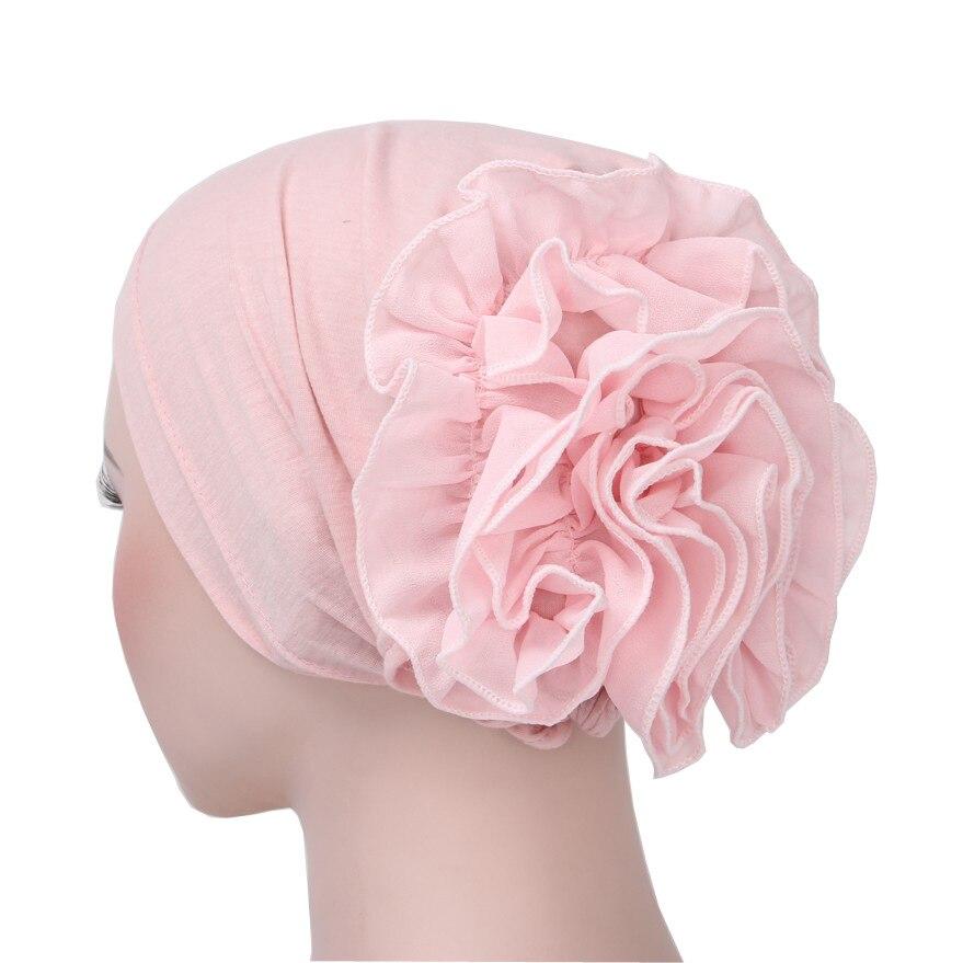 Muslim Hijab Turban Arabic Head Scarf Flower Women Chemo Cap  Muslim Hijab Scarf  Womens Hijab  Islamic Head Cover