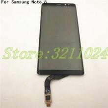 100% testé nouveau numériseur décran tactile 6.3 pouces pour Samsung Galaxy Note 8 N950 remplacement de panneau de verre de capteur tactile