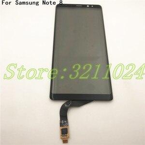 Image 1 - 100% testé nouveau numériseur décran tactile 6.3 pouces pour Samsung Galaxy Note 8 N950 remplacement de panneau de verre de capteur tactile