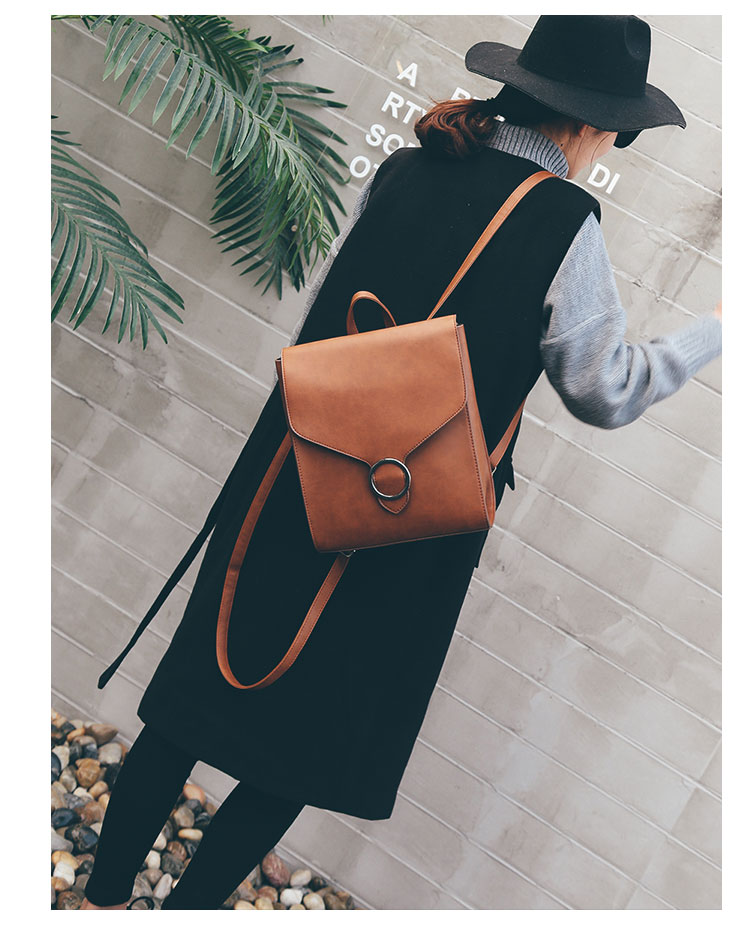 Retro Women's Rucksack Bag 21
