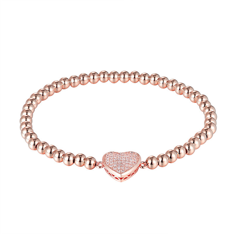 LIVVY 2018 Fashion Charm Royal Charm Mens Bracelet Micro Shop CZ Bead Fashion Top Brand Braided Bangle Jewelry AS273