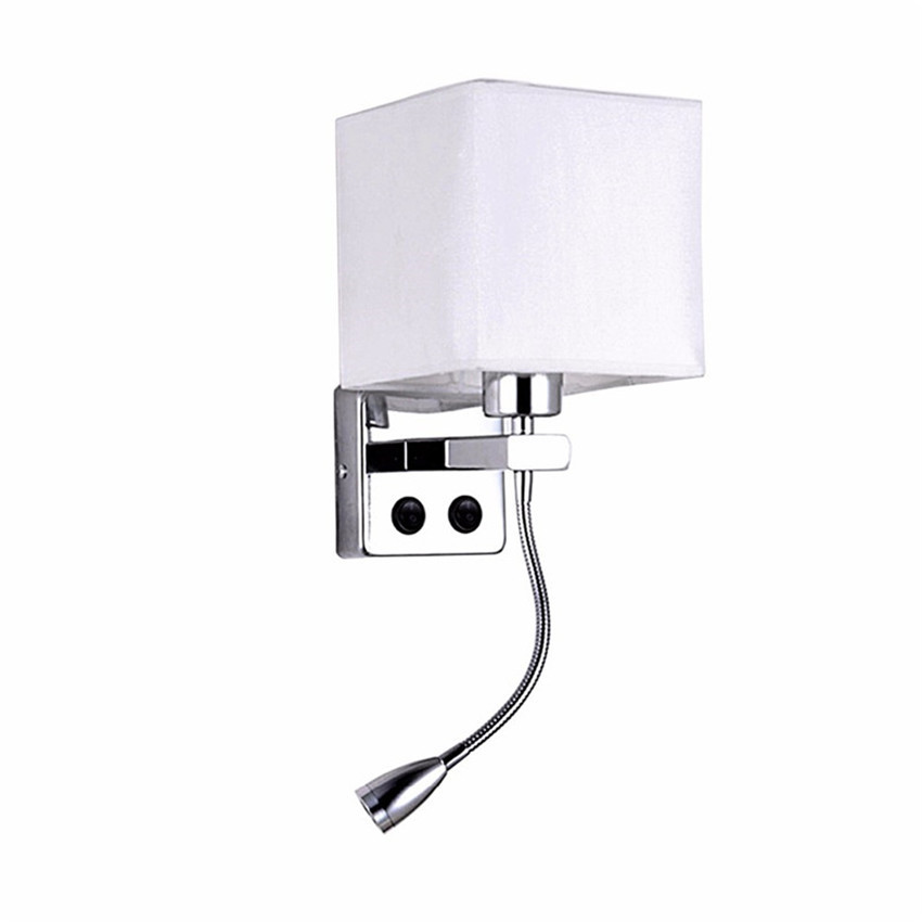 LED Bedside Wall LIGHT With Switch Flexible Reading Light Headboard Lamp FOR Staircase Living Room Bedroom Aisle Balcony BL703LED Bedside Wall LIGHT With Switch Flexible Reading Light Headboard Lamp FOR Staircase Living Room Bedroom Aisle Balcony BL703