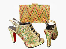 Fashion High Heels WomenShoe New Women's Shoes And Bags Set Fashion African Shoe And Matching Bags,Sexy Party Pumps