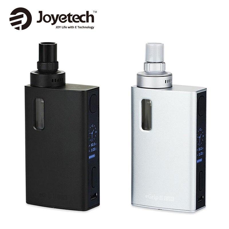Kit de démarrage Original 80 W Joyetech eGrip II VT 2100 mAh capacité de la batterie eGrip 2 Kit 3.5 ml/2.0 ml capacité e-grip 2 Kit e-cigarette