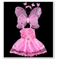 Fashion Sequin Sunflower Carnival Costumes Children Partywear Kid Girls Party Dresses Red Princess Girls Party Dress