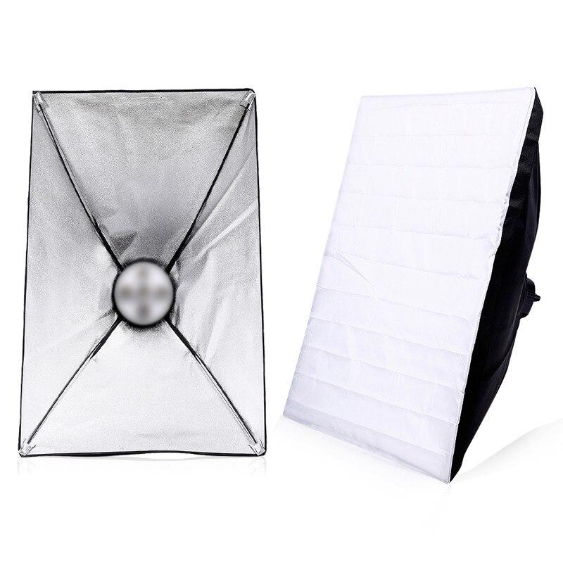 TRUMAGINE 1PC 60*90CM Portable Folding Photo Studio Softbox  Umbrella Reflector for Speedlight Accessories