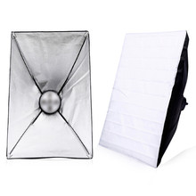 купить TRUMAGINE 1PC 60*90CM Portable Folding Photo Studio Softbox  Umbrella Reflector for Speedlight Photo Studio Accessories дешево