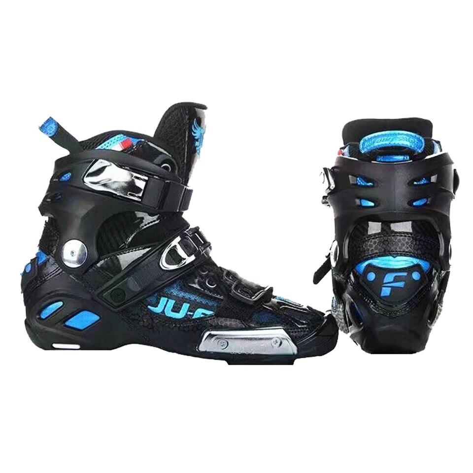War Wolf Up bottes haute cheville Semi-solft pour Slalom Patines vitesse patins à roues alignées chaussures supérieures professionnel course patinage F072