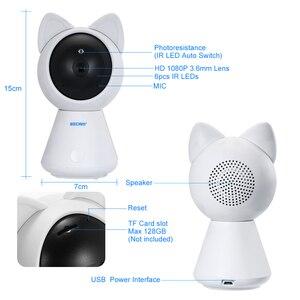 Image 5 - INQMEGA 1080 1080P Hd クラウド Wifi カメラインテリジェント自動追尾猫キティ IP カメラワイヤレスホームセキュリティカメラナイトビジョン