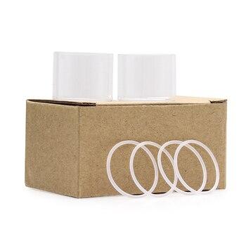 Tube en verre de remplacement pour cigarettes électroniques, pour Steam Crave Glaz rta V2, 7ml/10ml, 2 pièces/paquet, Original