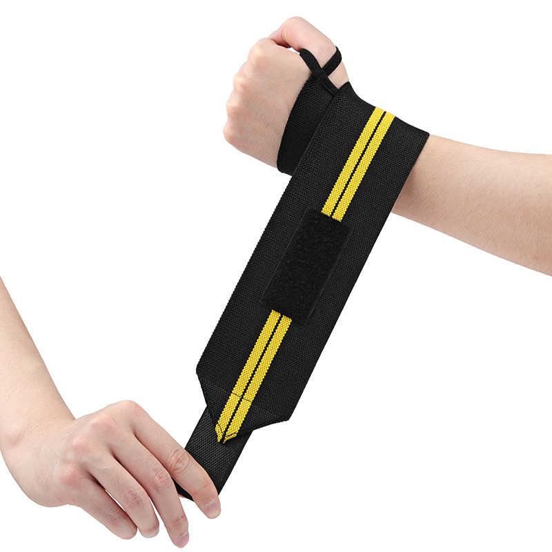 2 шт. регулируемый браслет эластичные бинты для запястья повязки для тяжелой атлетики Powerlifting дышащие нарукавные повязки 3 цвета