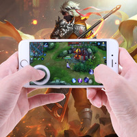 Mobile Phone Touch Screen Mobile Joystick Mobile Game Joysticks Touch Screen Joypad for Phone Tablet Arcade Games Controller