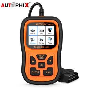 Image 1 - Autophix Om126P OBD2 Scanner Full OBD 2 Diagnostic Tool Engine Analyzer for EOBD JOBD OBD II Automotive Scanner Free Update