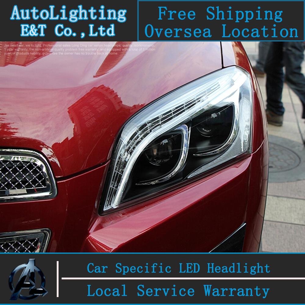Car styling Head Lamp for Chevrolet Trax led headlights Tracker headlight drl H7 hid Bi-Xenon Lens angel eye low beam