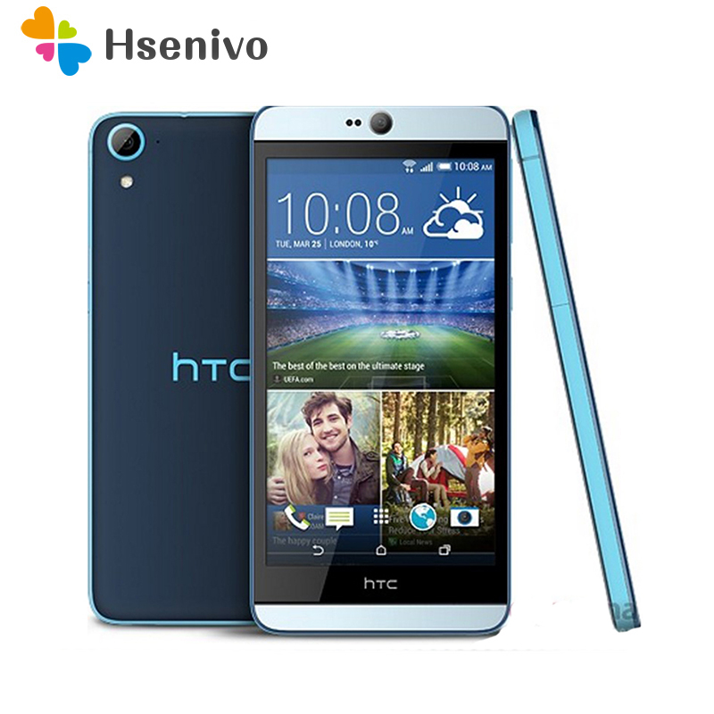 Original HTC Desire 826 826W Otca Core 5.5 inch 1920*1080 Dual SIM 2GB RAM 16GB ROM Unlocked dual 13.0MP camera 4G refurbished image