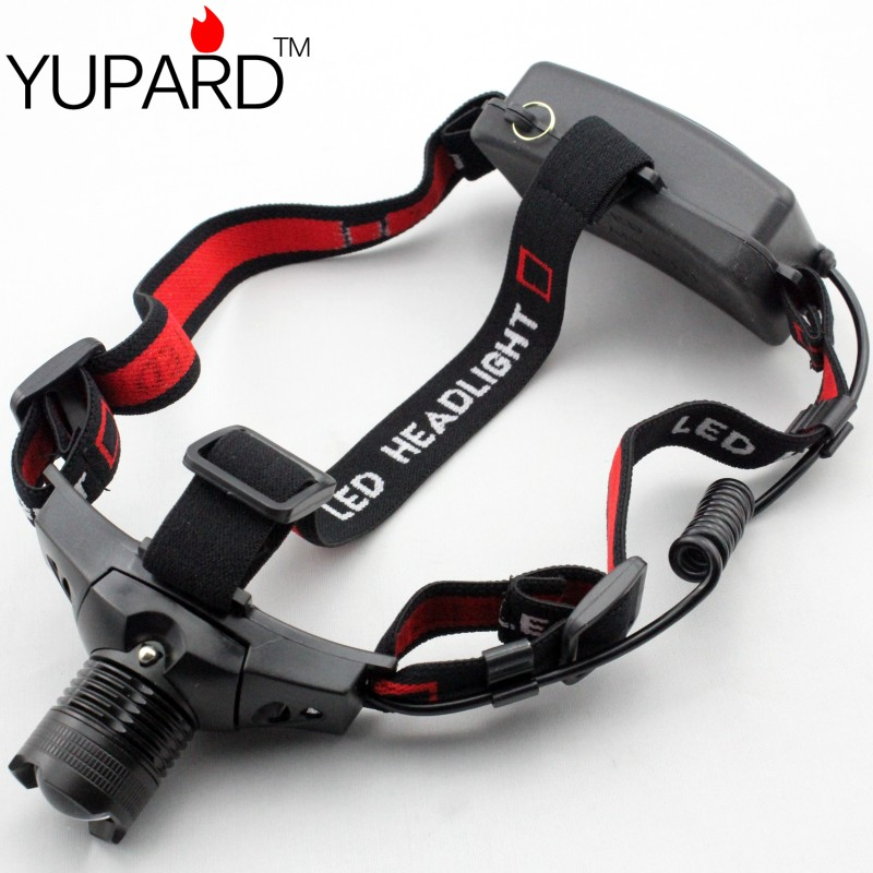 YUPARD Q5 LED koplamp koplamp koplamp licht Zoomable Zoom in out Voor - Draagbare verlichting