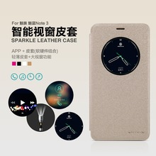 Meizu M3 Note cover case NILLKIN Sparkle super thin leather case flip cover for Meizu M3 Note(Meilan note 3)+Retailed Package