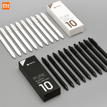10 ชิ้น/ล็อต Xiao mi KACO 0.5 มม. Xiao mi mi ปากกา Gal หมึกเขียนลายเซ็นสีดำเติมเงินไม่ปากกา roller ball ปากกา