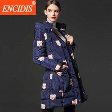 High Quality Women Down Coat 2016  New Fashion Winter Jacket Women Print Thicken Women jacket Winter Slim Coats Parka M334