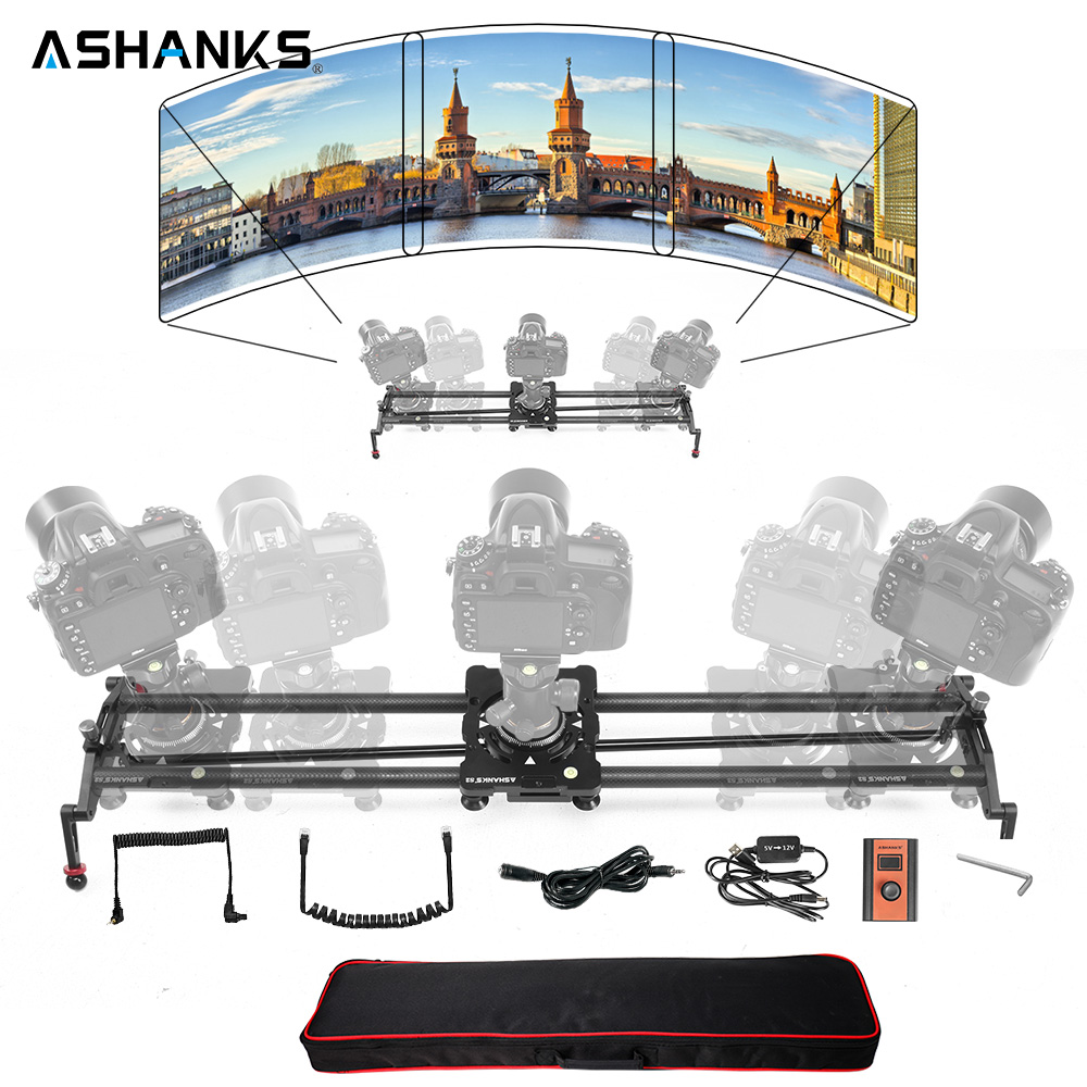 ASHANKS Video Track Dolly Slider Carbon Fiber Follow Focus Camera Slider Stabilizer for DSLR Studio Photography DV Camcorder цена