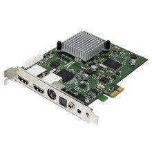 Hauppauge Colossus2 PCI Express הפנימי HD PVR 1080P60 חומרה לדחוס OBS הזרמת Youtube פייסבוק