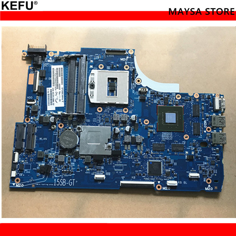 720567-001 For HP ENVY SELECT 15-J 15T-J000 Laptop Motherboard 6050A2548301-MB-A02 720567-501 mainboard 100% Tested 15 j ru laptop keyboards for hp envy15 touchsmart 15t j 15z j 15 j000 15t j000 15z j000 15 j151sr with frame with backlit