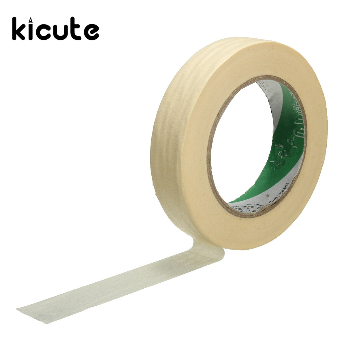 Kicute Portable 25mm*50m Roll Beige Masking Tape Printing Printer Decorative Adhesive Sticker For Home Office Art Tools 9 2016 new 3d color printer dual kit for sale 3dprinter electronics with one roll filament masking tape 2gb sd card for free