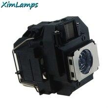 ELPLP58 Lampe De Projecteur avec le Logement Pour Epson EB-S9 EB-S92 EB-W10 EB-X10 EB-X92 PowerLite 1220 PowerLite 1260 EB-S10 EX7200
