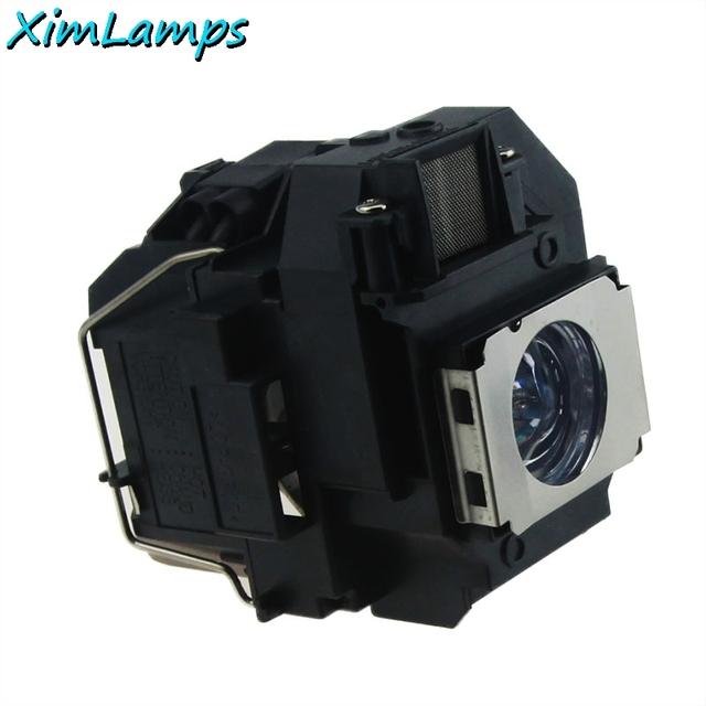 Elplp58 lâmpada do projetor com alojamento para epson eb-s9 eb-s92 eb-w10 eb-x92 eb-x10 ex7200 powerlite 1220 powerlite 1260 eb-s10