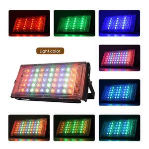 Image 3 - LED הארה חיצוני זרקור 10W 50W קיר מכונת כביסה מנורת רפלקטור IP65 עמיד למים תאורת גן RGB מבול אור AC 220V 240V