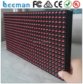 Leeman p10 1r led module 16*32 2015 outdoor P10 green single color led display module red/yellow for moving led sign board panel