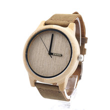 Hot! Alibaba in Russian new product 2017 men's watch free shipping wooden watch from China supplier