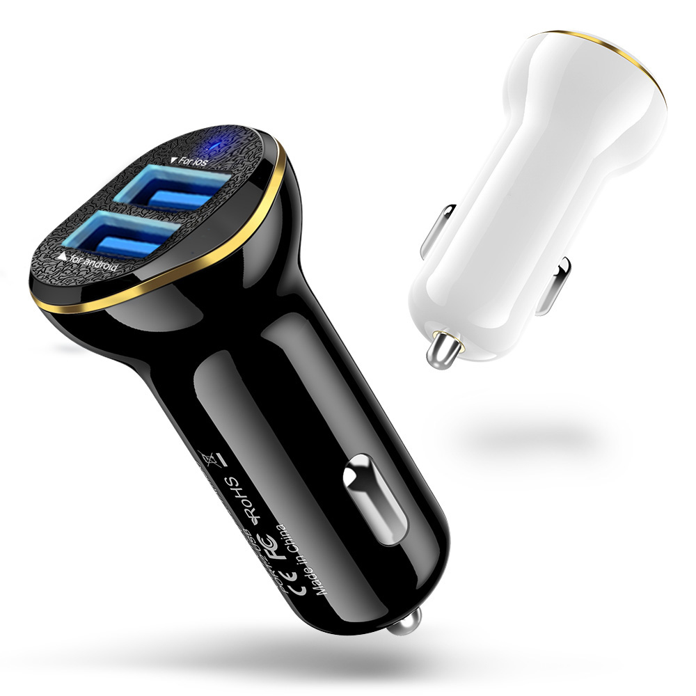 2 USB Car Charger Output 3.1A max Fast Charging Power Charger Adapter For Samsung Xiaomi Huawei mobile phones car-charger