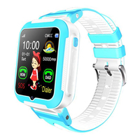 E7+ children's smart phone watch depth waterproof real time track photo tracking GPS positioning watch long standby