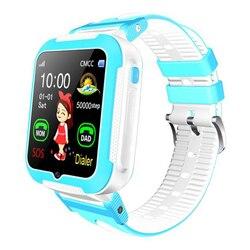 E7 + dla dzieci inteligentny telefon zegarek głębokość wodoodporna śledzenie w czasie rzeczywistym zdjęcie śledzenia GPS pozycjonowanie zegarek długi czas czuwania w Inteligentne zegarki od Elektronika użytkowa na