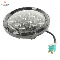 7 75W Motorcycle Projector Daymaker High Low LED Bulb Headlight Case For Harley Touring Softail 1994