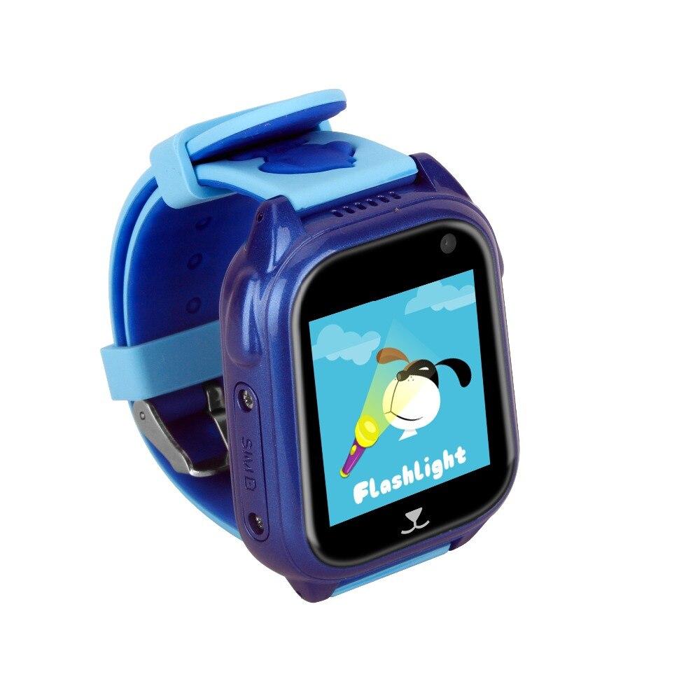 Pewant montre bébé intelligente avec caméra GPS SOS appel localisation dispositif Tracker sûr Anti-perte moniteur montre intelligente pour enfants enfants - 2
