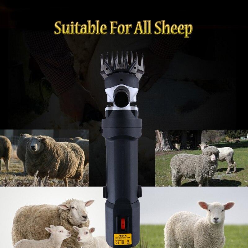 110V/220V High Power Motor Electric Sheep Clipper Sheep Shearing Clipper Sheep Wool Shear Machine Can Adjustable Speed
