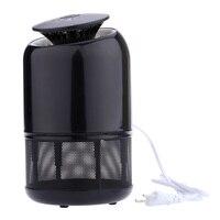 Smart UV Moustique Tueur Répulsif LED Mosquito-Tuer Piège Lampe Ménage Bug Vol des Insectes Nuisibles Violet Éclairage Sucer Dispositif