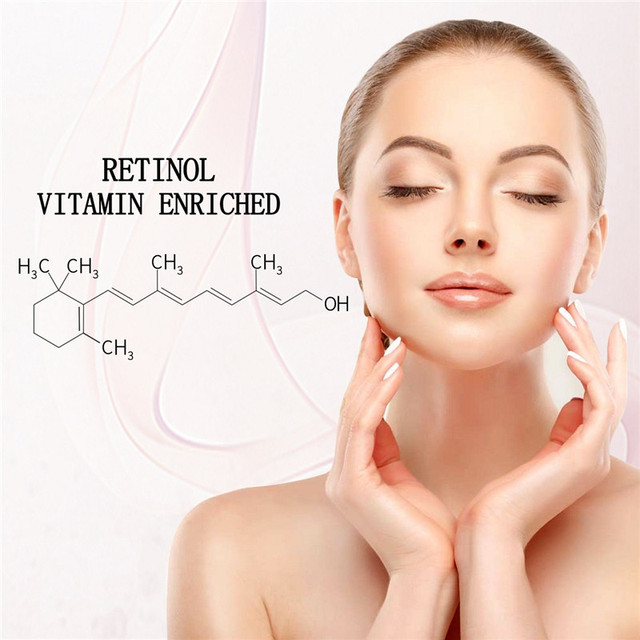 Retinol 2.5% Moisturizer Face Cream Vitamin E Collagen Retin Anti Aging Wrinkles Acne Hyaluronic Acid Green Tea Whitening Cream 3