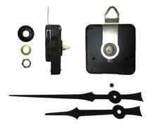 Hot sale DIY Quartz Wall Clock Movement Kit Spindle Mechanism shaft 6mm Hanging clock Repair Replacement with metal hook