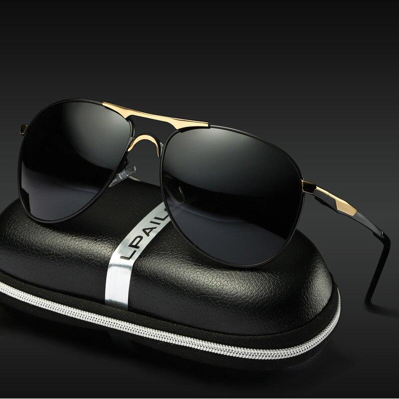 Driver Glasses Polarized Sunglasses Outdoor Men Hd Vision Driving Goggles Car Accessories UV400 2019