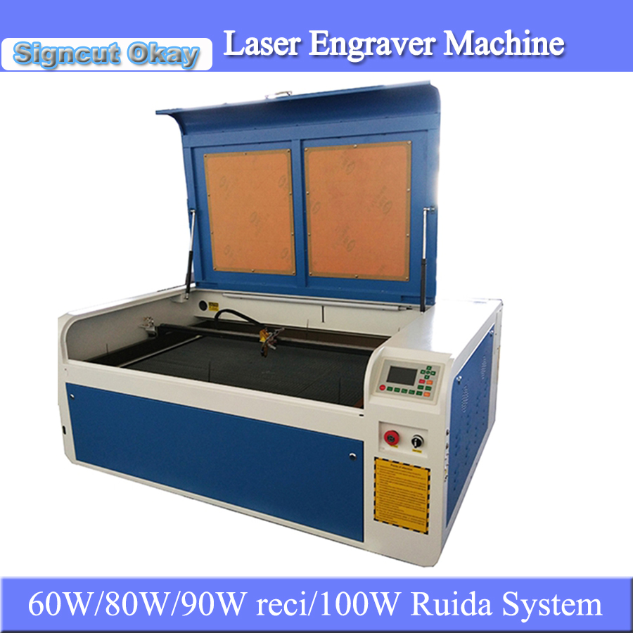 CNC CO2 Laser Engraving And Cutting Machine Acrylic Laser Engraver Machine 6090 For Crafts DIY Engraving Caving For Sale