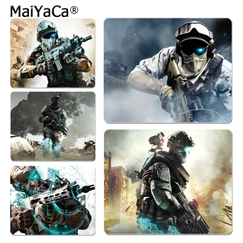 MaiYaCa Ghost Recon Future Soldier mouse pad gamer play mats Size for 7.08*8.65inch and  ...